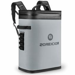 ROCKBROS Leak-Proof Soft Sided Cooler Backpack Waterproof In