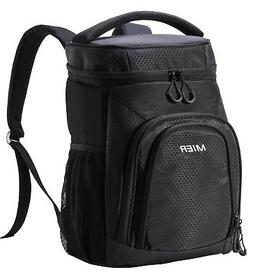 MIER Leakproof Cooler Backpack Insulated Soft Lunch Cooler f