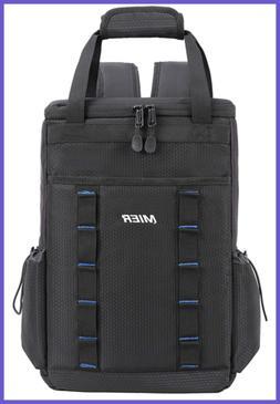 Leakproof Insulated Backpack Soft Cooler Lunch Bag For Men &