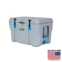Lifetime 77 Quart High Performance Cooler Grey Camping Ice C