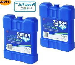 lifoam freez pak 4942 large reusable ice