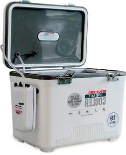 ENGEL Livebait Cooler 19Qt White W/Aerator+Net /ENGLBC19-N