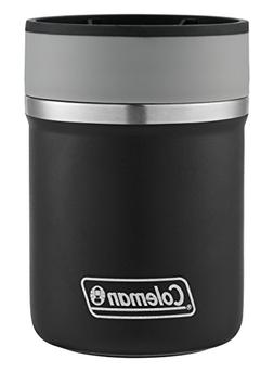 Coleman Lounger Stainless Steel Can Insulator, Black,