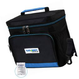LUNCH BAG for Men, Women - Pinnacle Insulated Box Adult, Wor
