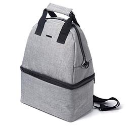 PuTwo Lunch Bag 14L Insulated Cooler Backpack Bag 2 Compartm