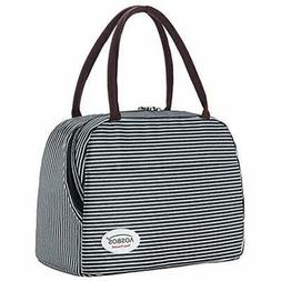 Aosbos Lunch Bags For Women Insulated Box Cooler Tote Work W