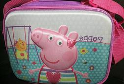 Peppa Pig Lunch cooler, NEW! School, Kids Embossed , Purple
