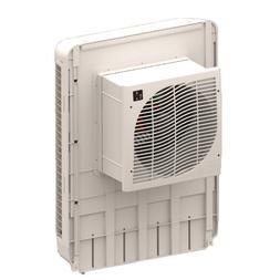 MasterCool MCP44 Slim Profile Window Cooler - 1600 sq ft, Wh