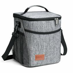 Meal Lunch Box Insulated Bag Small Cooler Tote for Men Women