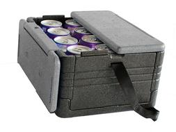 Flip Box Mini Insulation Box  - Fits 12 Cans, Collapsible, L