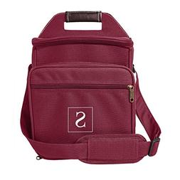 Cathy's Concepts Monogram Picnic Cooler, Size One Size - Red