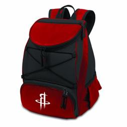 NBA Backpack Cooler - Color: Red, NBA Team: Houston Rockets
