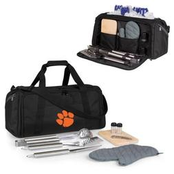 PICNIC TIME NCAA Clemson Tigers BBQ Kit Cooler Tote with Bar