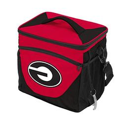 NCAA Georgia Bulldogs 24-Can Cooler with Bottle Opener and F