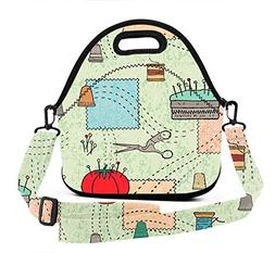 ART TANG Neoprene Insulated Tote Picnic Lunch Backpack Shoul