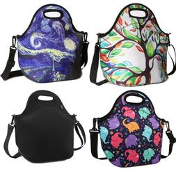Nuovoware Neoprene Lunch Tote Insulated Picnic Bag Soft Ther