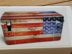 NEW USATuff Cooler bison bruite 50qt older style USA FLAG CO