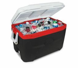 new cooler chest ice 55 qt quart
