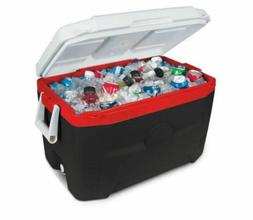NEW Cooler Chest Ice Igloo 55 Qt Quart Coolers Travel Red Pa