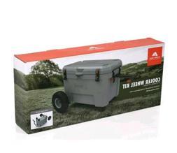 New Ozark Trail Cooler Wheel Kit for 52 and 73 Quart Hi Perf
