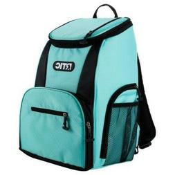 NEW for 2019 NWT RTIC Day Cooler 15 Can Backpack, Aqua & Bla