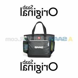 NEW GENUINE SAAB IGLOO LUNCH BOX BAG COOLER TOTE GREY SAAB O