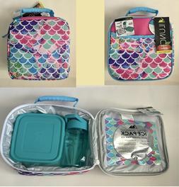 NEW Arctic Zone Insulated Mermaid Lunch Box Combo Kit free s