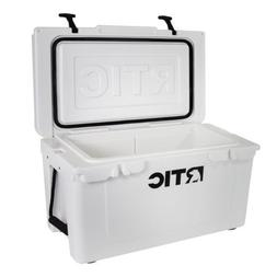 ~ NEW LOOK ~ WHITE RTIC 45 COOLER ~ IN STOCK FREE SHIP ~ ROT