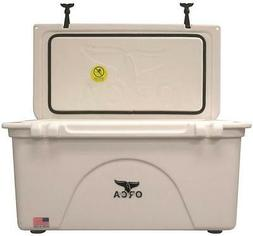 NEW ORCA ORCW075 WHITE COLORED 75 QUART INSULATED ICE CHEST