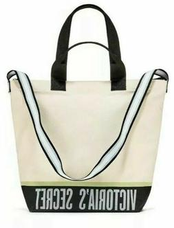 NEW VICTORIA SECRET Cooler Carryall Tote Insulated Bag Canva