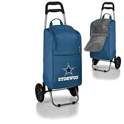 NFL Dallas Cowboys Insulated Cart Cooler with Wheeled Trolle