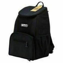 NWT RTIC Day Cooler 15 Can Backpack, BLACK. Free Shipping!!