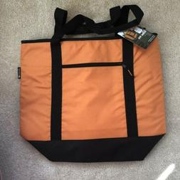 Ozark Trail Orange Thermal XL Tote Cooler Icebox Outdoor Sof