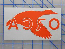 """ORCA Coolers Duck Sticker Decal 5.5"""" 7.5"""" 11"""" Cushion 26 40"""
