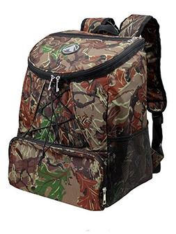 Large Padded Backpack Cooler - Fully Insulated, Leak And Wat
