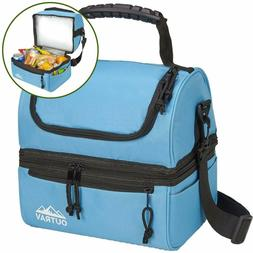 Padded Insulated Lunch Bag Cooler – Soft Collapsible Leak