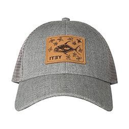 YETI Permit in Mangroves Patch Trucker Hat Gray
