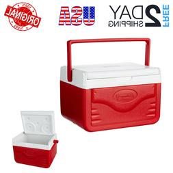 New Personal Cooler Coleman Food Ice Chest Lunch Box 5 Qt Sm