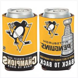 Pittsburgh Penguins Stanley Cup Champions Can Cooler 12 oz.