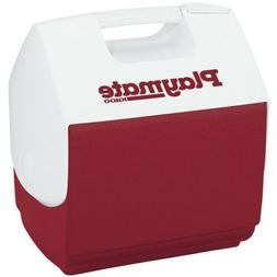 Igloo Playmate Pal Cooler, Red 7 Qt. / 9 Cans