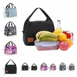 Polyester Cooler Thermal Food Fresh Insulated Lunch Bag For