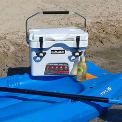 Portable Outdoor Insulated 16-Quart Ice Chest Cooler 24 Cans
