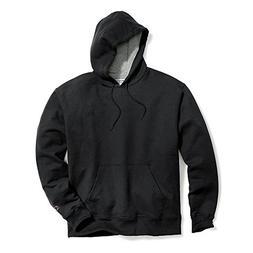 Champion Men's Powerblend Pullover Hoodie, Black, Medium