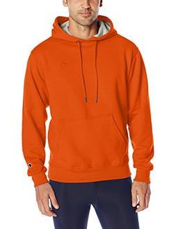 Champion Men's Powerblend Sweats Pullover Hoodie Orange XXL