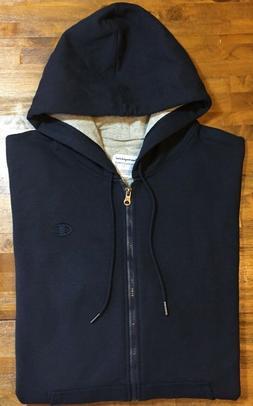 Champion Men's Powerblend Sweats Full Zip Jacket Navy L