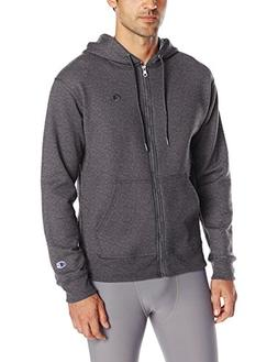 Champion Men's Powerblend Sweats Full Zip Jacket Granite Hea
