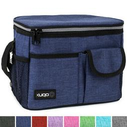 Premium Insulated Medium Lunch Bag With Shoulder Strap by OP