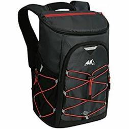 Arctic Zone PRO 24 Can Backpack Cooler, Dark Grey/Orange