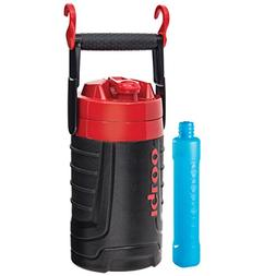 Igloo Proformance 1/2 Gallon with Freeze Stick, Black/Red He