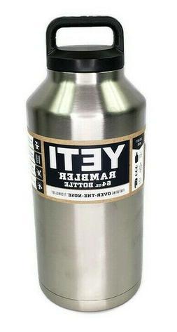 Brand New Yeti Rambler 64 oz Stainless Bottle with Lid YRAMB